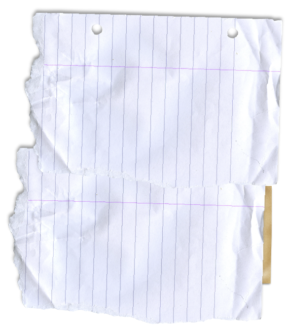 Top lined paper