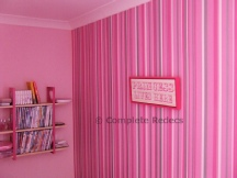 Wallpapering example
