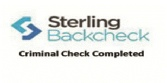 Sterling back check logo